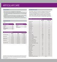 ARTICULAR CARE - PRO ZOON Pharmazeutika