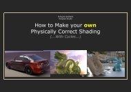 How to Make your own Physically Correct Shading - Blender.org