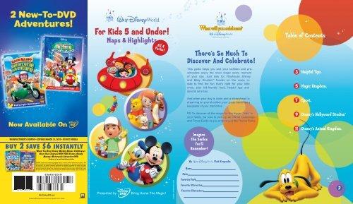 Magical Beginnings Guide - Walt Disney World