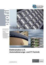 Elektramation e.K. Automatisierungs- und IT-Technik