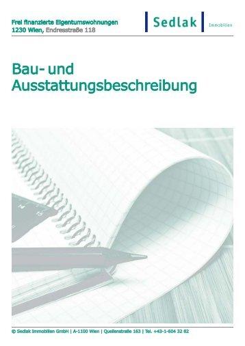 PDF Ausstattung - Sedlak Immobilien