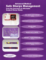 safe sharps management brochure - Advanced Medical Innovations