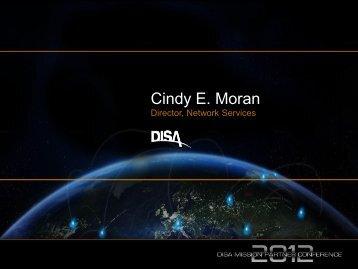 Cindy E. Moran - Defense Information Systems Agency