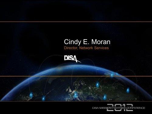 Cindy E  Moran - Defense Information Systems Agency