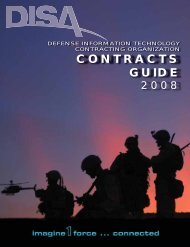 DISA Contracts Guide 2008 (Issue 12.4) - KMI Media Group