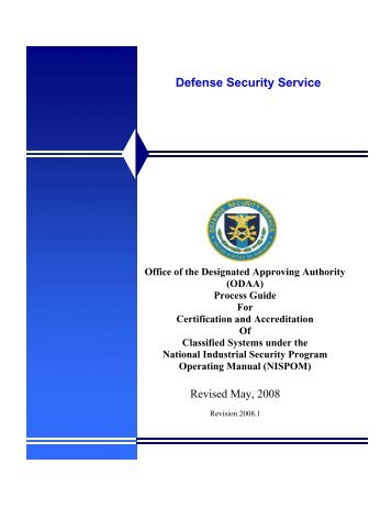 Defense Security Service - Florida Industrial Security Working Group