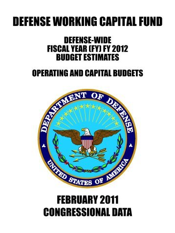 2012 Defense Working Capital Fund - Comptroller
