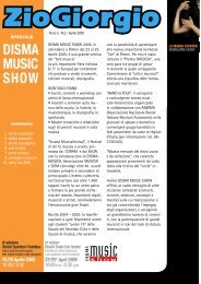 DISMA MUSIC SHOW 2005, in calendario a Rimini ... - ZioGiorgio.it