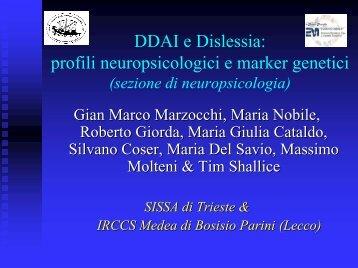 DDAI e Dislessia - offerta speciale 1 o 2 notti (-10%) - non rimborsabile