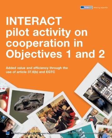 INTERACT pilot activity on cooperation in Objectives 1 and 2