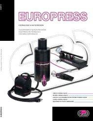 pompes à main en alliage léger 700 - Euro Press Pack