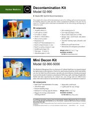 Counting Accessories and Decontamination Supplies - Elimpex