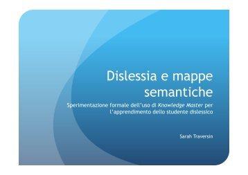 Dislessia e mappe semantiche