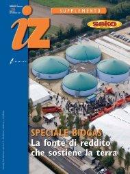 Scarica il depliant in PDF dello Speciale Biogas - Seko Spa