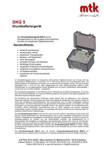 Datenblatt (165.46 kb) - MTK Peter Kron GmbH