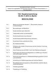 122. Hauptversammlung 02./03.11.2012 in Berlin ... - Marburger Bund