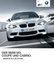 DER BMW M3. COUPÉ UND CABRIO. - BMW Deutschland