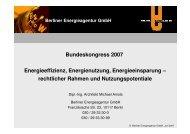Berliner Energieagentur GmbH - BDPK