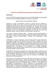 Guidelines for HOPE Exchange Programme Participants 2012 FINAL