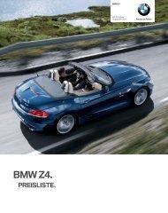 KPL 09-11 Z4.indd - BMW.com