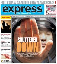 FAULTY SIGNAL BLAMED FOR '09 FATAL METRO ... - Express