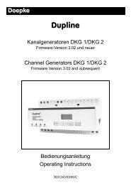 Bedienungsanleitung [3931243.pdf] - Doepke