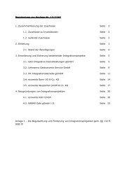 Begründung zur Vorlage Nr. 13/2247 1. Zusammenfassung der ...