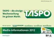 Media-Informationen 2012 - Taspo