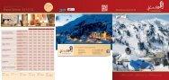 Preisliste als PDF downloaden - Hotel Römerhof