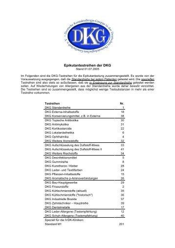 DKG-Testreihen Juli 2005 - GWDG