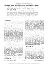 Dislocation climb in two-dimensional discrete dislocation dynamics