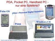 Windows CE Windows CE Palm OS Psion