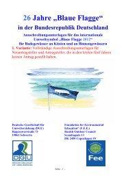 2012 Badestellen Kriterien Blaue Flagge - Flussparadies Franken