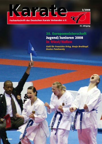 35. Europameisterschaft Jugend/Junioren 2008 in Triest/Italien