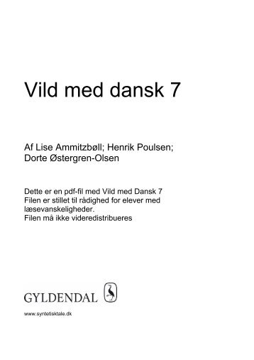 vild med dansk pdf