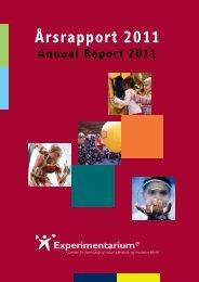 Årsrapport 2011 - Experimentarium