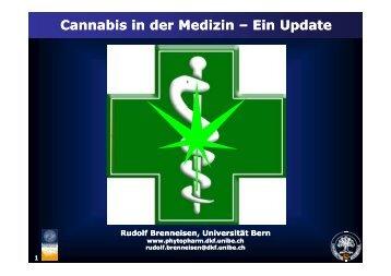 Cannabis in der Medizin Cannabis in der Medizin - Brenneisen ...