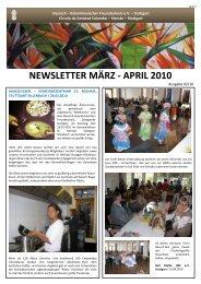 NEWSLETTER MÄRZ - APRIL 2010 - Deutsch-Kolumbianischer ...