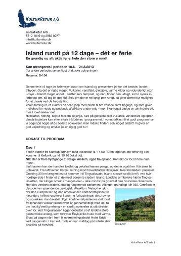 Island rundt på 12 dage – dét er ferie - kulturretur.dk