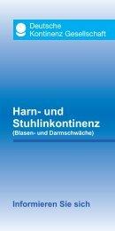 060638 DKG H-uS 0112.indd - Deutsche Kontinenz Gesellschaft