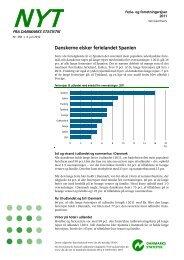 Ferie- og forretningsrejser 2011 - Danmarks Statistik