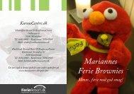 Mariannes Ferie Brownies - KursusCentre.dk