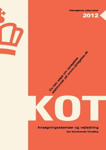 KOT-hæftet - Optagelse.dk
