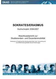 SOKRATES/ERASMUS - DAAD