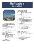 Pige fridags ferie 23. - 25. april 2013 - Hotel Sanden Bjerggaard ... - Page 2