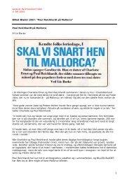 """Billed-Bladet 1967: """"Poul Reichhardt på Mallorca"""" - DR"""