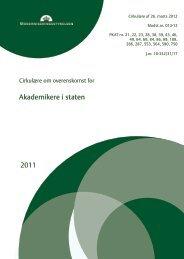 Overenskomst for akademikere i staten