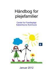 Håndbog for plejefamilier - Center for Familiepleje