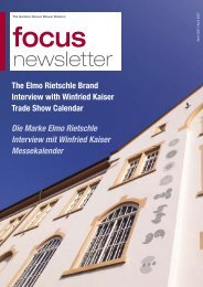 newsletter - Elmo Rietschle