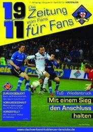 Foto: Oliver Schupp - Dachverband Koblenzer Fanclubs eV